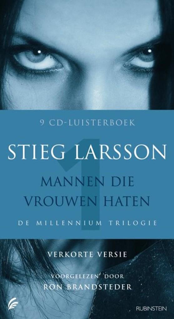 Mannen die vrouwen haten Luisterboek 8 CD's verkorte versie De millennium trilogie