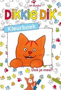Dikkie Dik - Kleurboek | Jet Boeke |