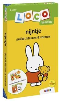 Loco bambino nijntje pakket kleuren & vormen | auteur onbekend |