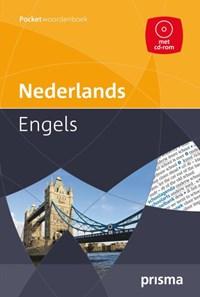 Prisma pocketwoordenboek Nederlands-Engels + CD-ROM   de A.F.M. De Knegt ; C. Knegt-Bos  