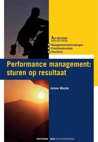 Performance management - NCOI   Jeroen Macke  