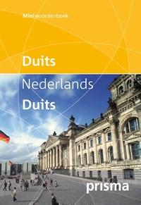 Prisma miniwoordenboek Duits-Nederlands Nederlands- Duits | Prisma redactie |