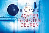 Achter gesloten deuren | B.A. Paris |