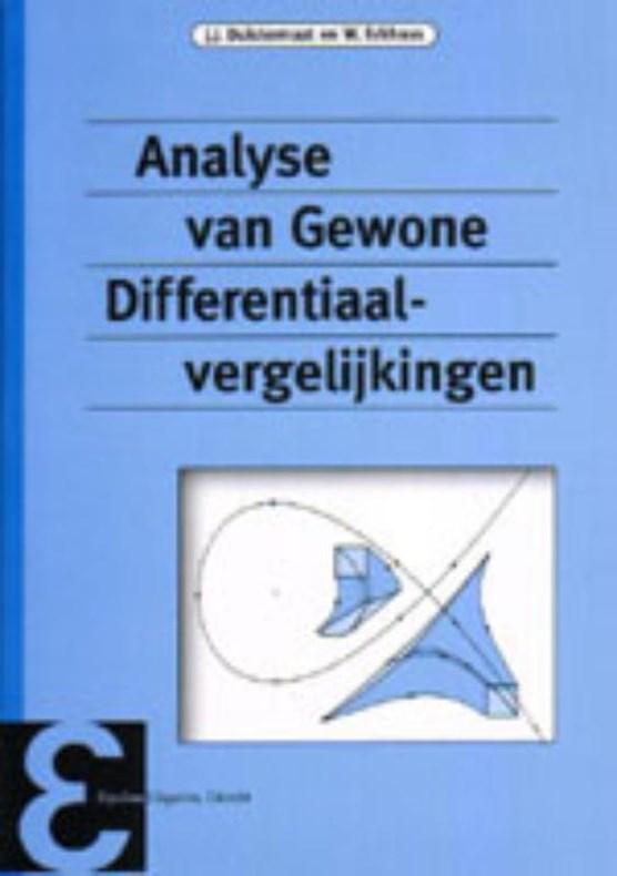 Analyse van gewone differentiaalvergelijkingen