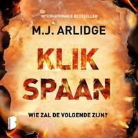 Klikspaan   M.J. Arlidge  