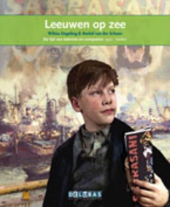 Leeuwen op zee De haven van Rotterdam