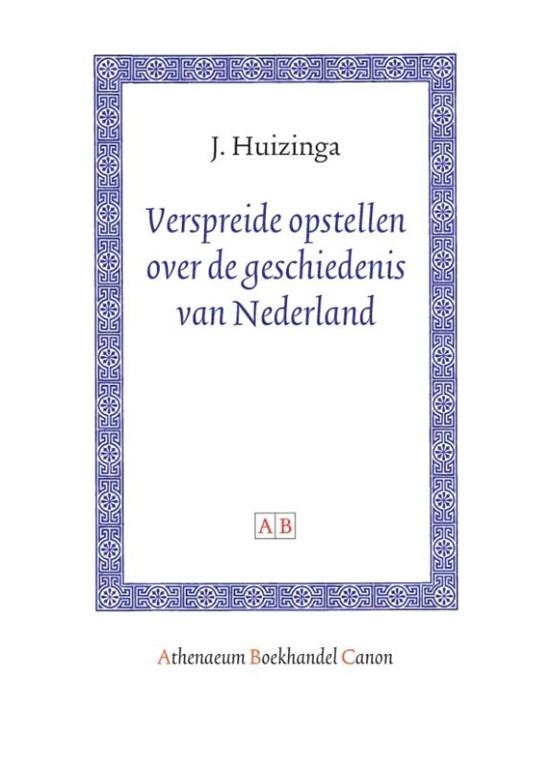 Verspreide opstellen over de geschiedenis van Nederland