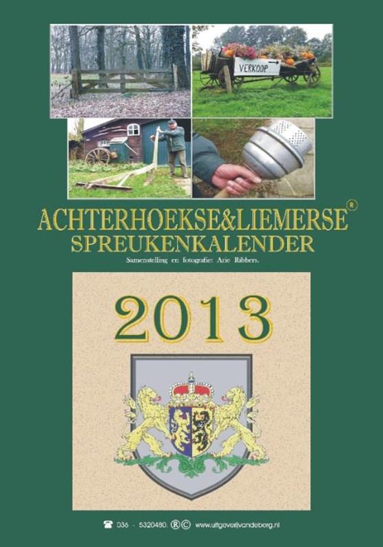 Achterhoekse & liemerse spreukenkalender 2013