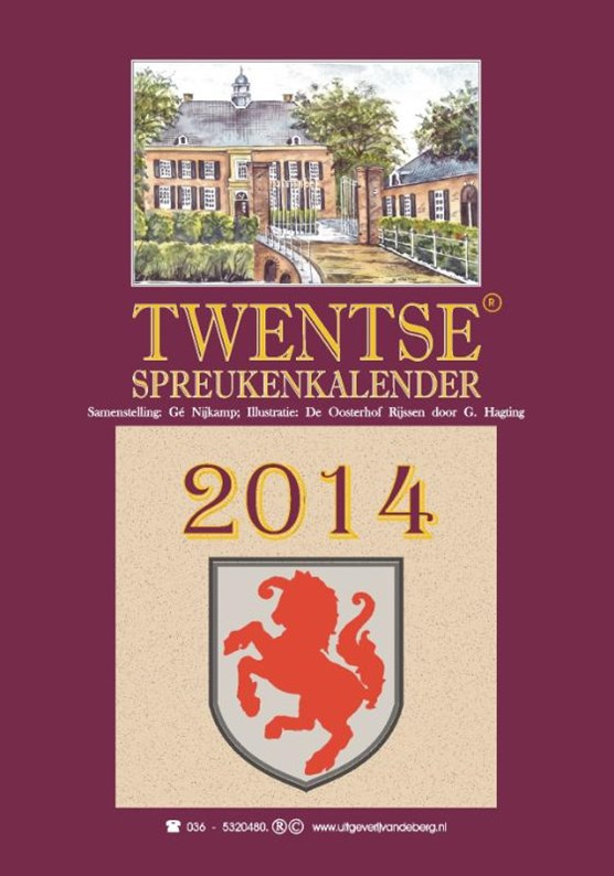 Twentse spreukenkalender 2014