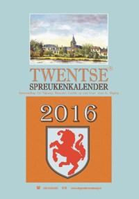Twentse spreukenkalender 2016 | Gé Nijkamp |