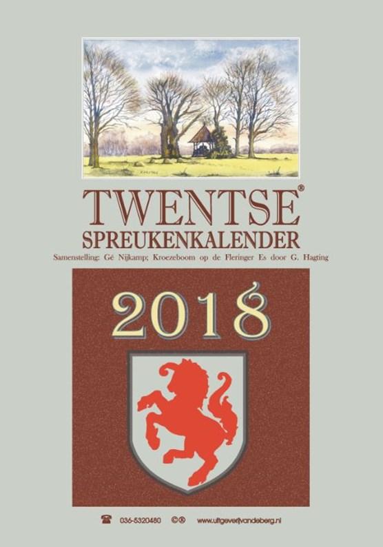 Twentse spreukenkalender 2018