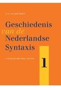 Geschiedenis van de Nederlandse syntaxis   J.M. Van Der Horst  