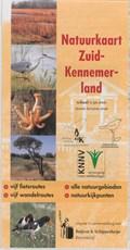 Natuurkaart Zuid-Kennemerland   auteur onbekend  