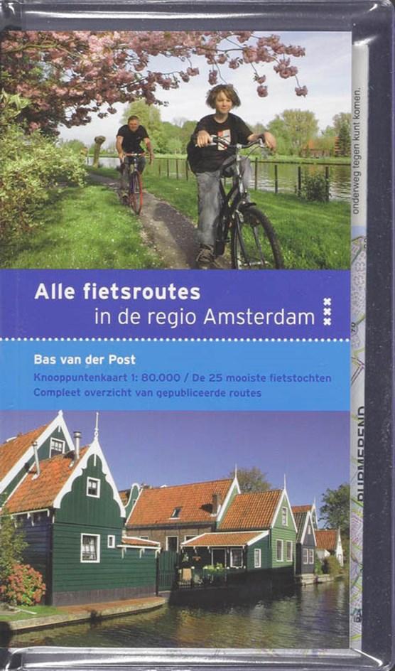 Alle fietsroutes in de regio Amsterdam
