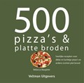 500 pizza's & platte broden   R. Baugniet  