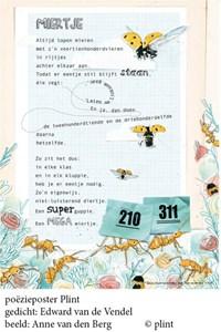 Poeziekaart E. van de Vendel Miertje | auteur onbekend |