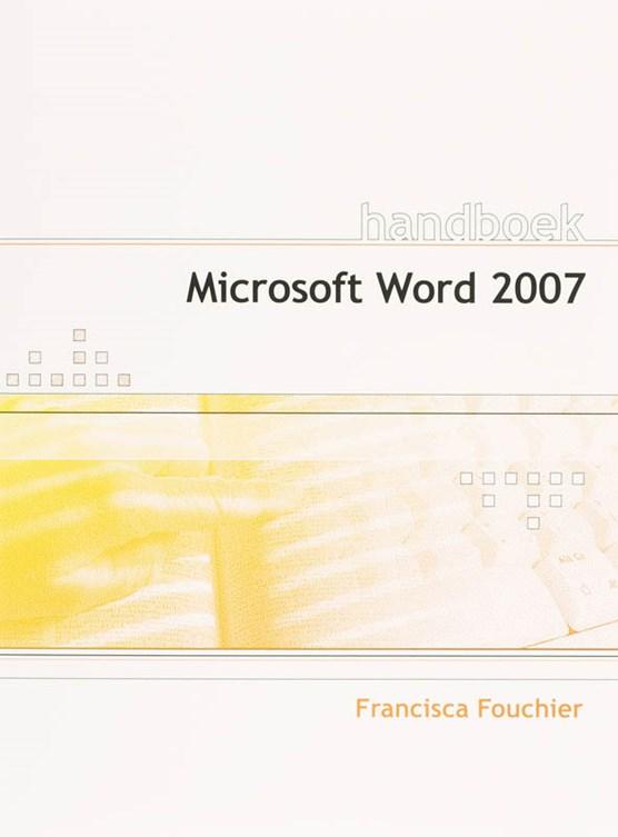 Handboek Microsoft Word 2007 NL