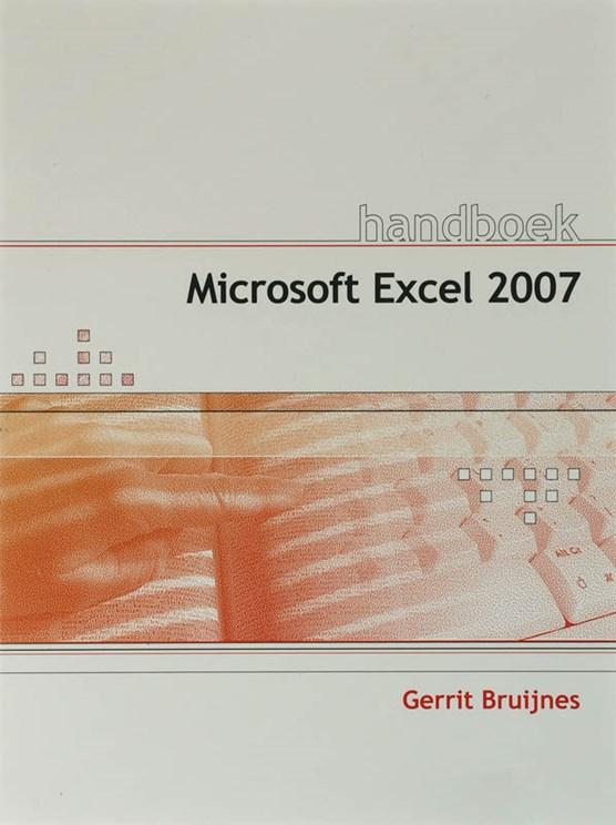 Handboek Excel 2007 NL