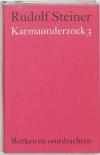 Karmaonderzoek 3   Rudolf Steiner  