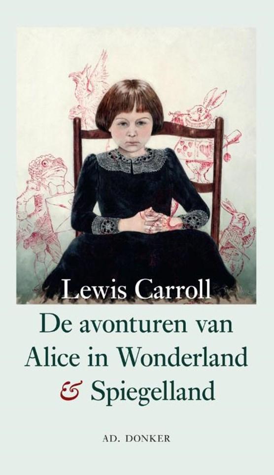 De avonturen van Alice in Wonderland en Spiegelland