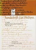 Het handschrift-Jan Phillipsz. | Herman Brinkman (RED.) |