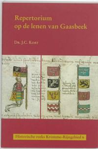 Repertorium op de lenen van Gaasbeek   J.C. Kort  