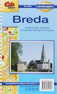 Citoplan stratengids Breda   auteur onbekend  
