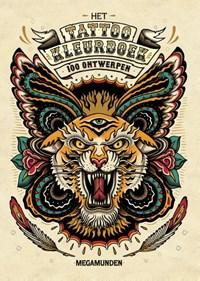 Het tattoo kleurboek   Megamunden  