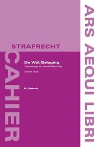 De Wet Belaging | M. Malsch |