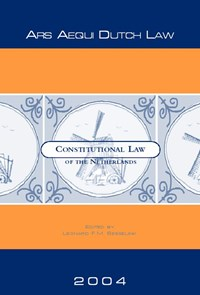 Constitutional Law of the Netherlands | L.F.M. Besselink |