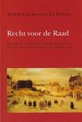 Recht voor de Raad   M.-C. le Bailly  