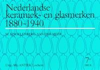 Nederlandse Keramiek- en Glasmerken 1880-1940   M. Singelenberg-van der Meer  