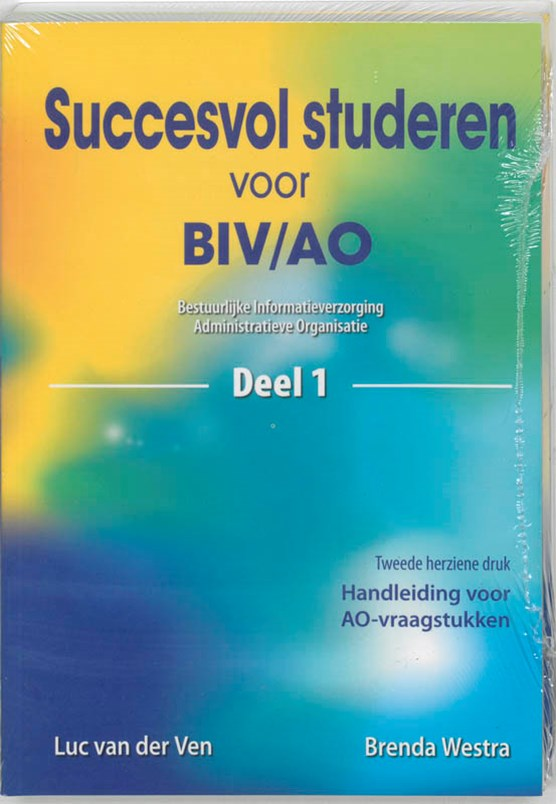 Succesvol studeren voor BIV/AO 1 en 2