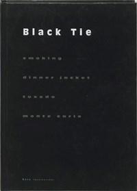 Black tie | B. Herbergs |
