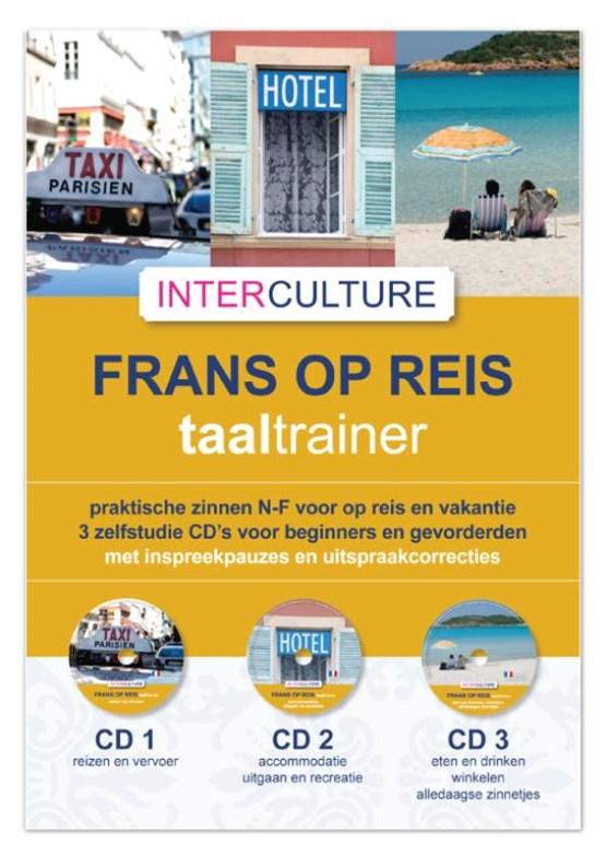Interculture Frans op reis taaltrainer 3 CD's