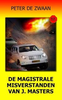 De magistrale misverstanden van J. Masters | Peter de Zwaan |