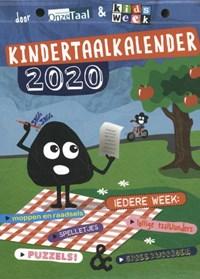 Kindertaalkalender 2020 | ; Genootschap Onze Taal Kidsweek |