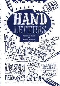 Handletters, werk- en inspiratieboek | Miriam de Bondt ; Marion Vrijburg |