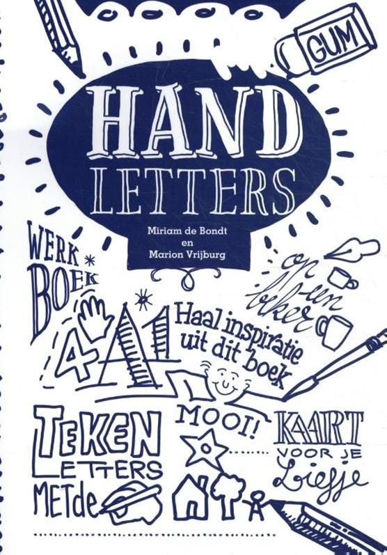 Handletters, werk- en inspiratieboek