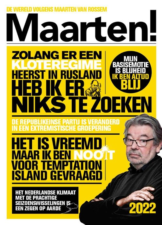 Maarten! Scheurkalender 2022