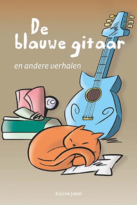 De blauwe gitaar