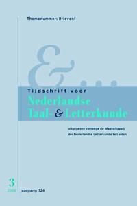 Tijdschrift voor Nederlandse Taal- en Letterkunde 3/2008/ Brieven | T. van Kalmthout |
