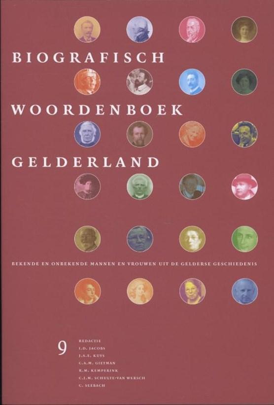 Biografisch woordenboek Gelderland Deel 9