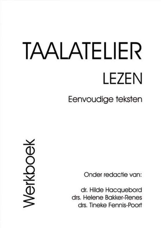Taalatelier Eenvoudige teksten Werboek