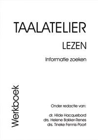 Taalatelier Informatie zoeken Werkboek | I. Stigter |