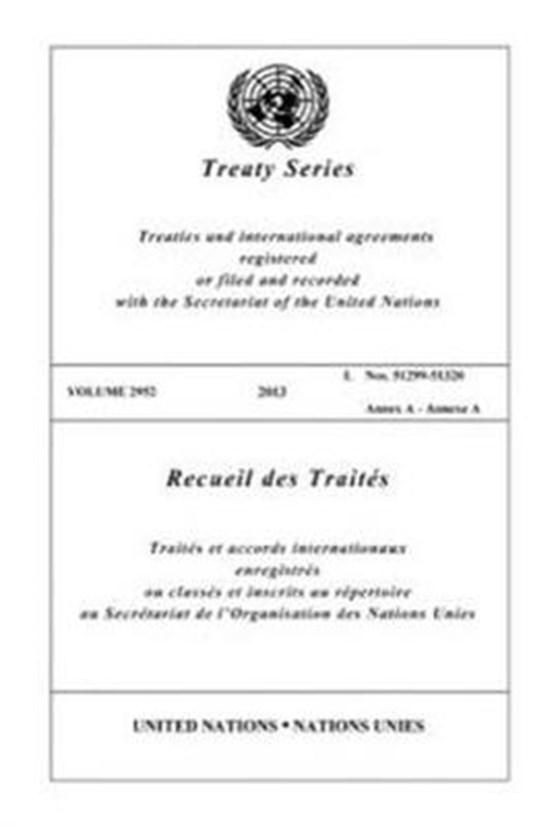 Treaty Series 2952 (Bilingual Edition)