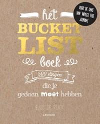 Het Bucketlist boek | Elise De Rijck |
