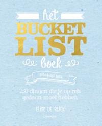 Het Bucketlist boek voor op reis | Elise De Rijck |