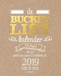 De Bucketlist Scheurkalender 2019   Elise De Rijck  