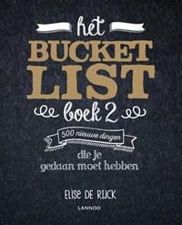 Het Bucketlist Boek 2   Elise De Rijck  
